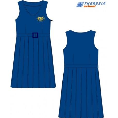 Pichi en color azul, bordado y para primaria del 2º y 3º ciclo. Del colegio Sagrado Corazón de Tafira