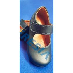 Zapato merceditas marino con velcro
