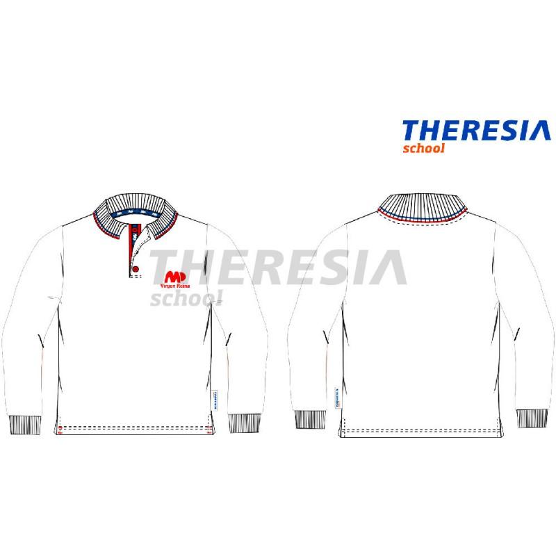 ba755fb5372a5 Polo manga larga uniforme - Theresia School
