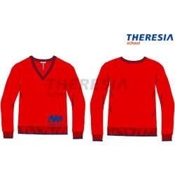 Suéter uniforme granate/marino