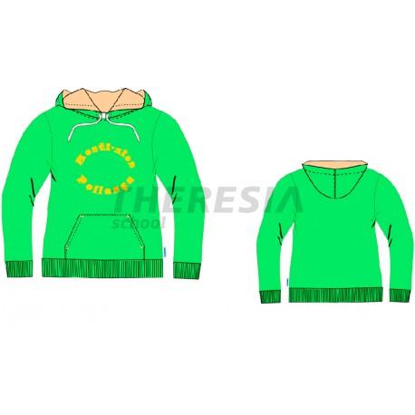 Chaqueta de chándal acetato color verde