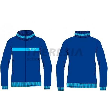Chaqueta uniforme marino/celeste