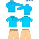 Conjunto de uniforme de verano niño