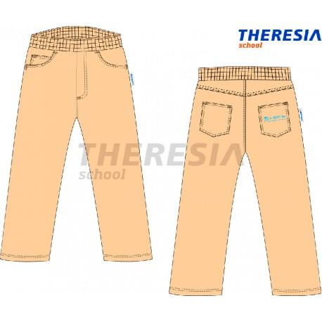 Pantalón de uniforme de pana engomado