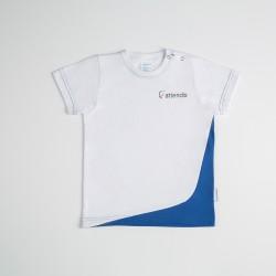 Camiseta manga corta: ciclo maternal e infantil