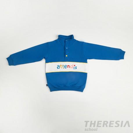 Chándal infantil felpa azulón (ECI) para infantil (3, 4 y 5 años)